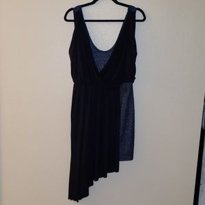 Free people a asymmetrical dress size medium